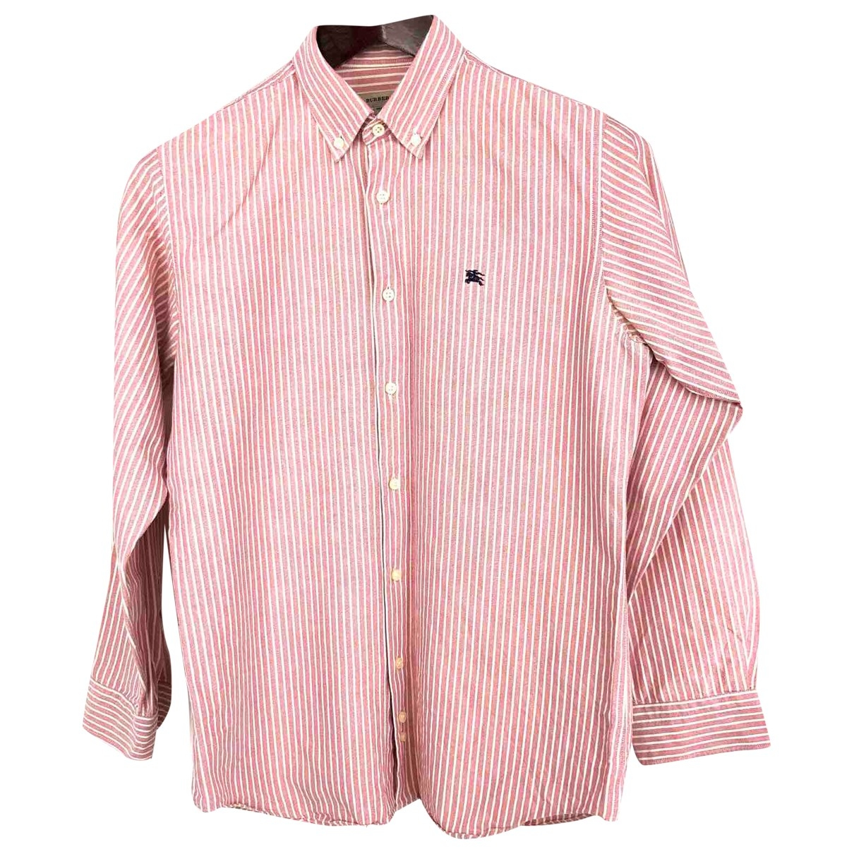 Burberry \N Multicolour Cotton Shirts for Men S International