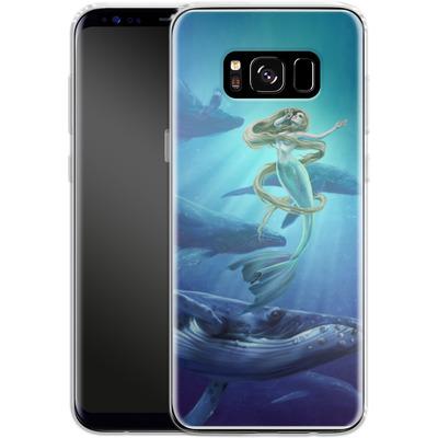 Samsung Galaxy S8 Silikon Handyhuelle - Ocean Song von Selina Fenech