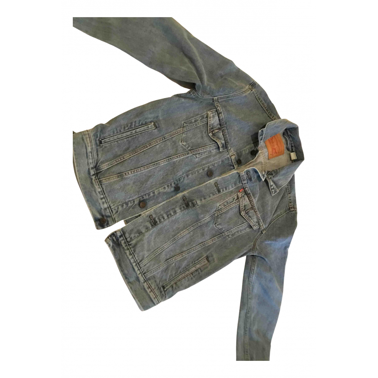 Levi's N Blue Denim - Jeans Leather jacket for Women M International