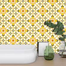 19sheets Geometric Pattern Wall Sticker