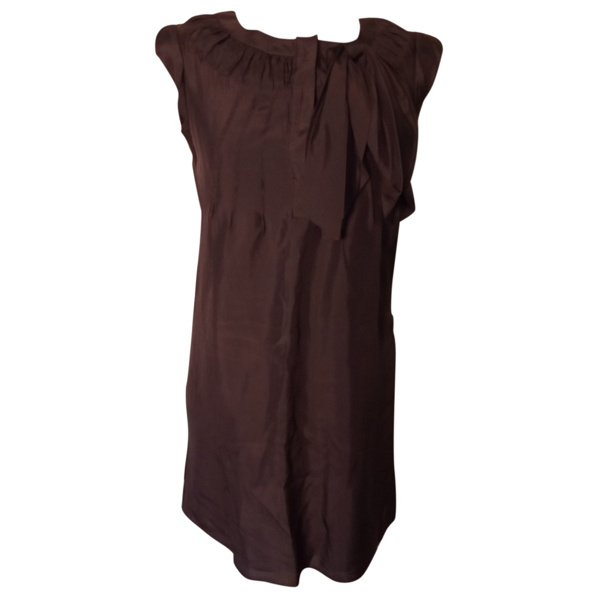 See By Chloé \N Brown Silk dress for Women 42 IT