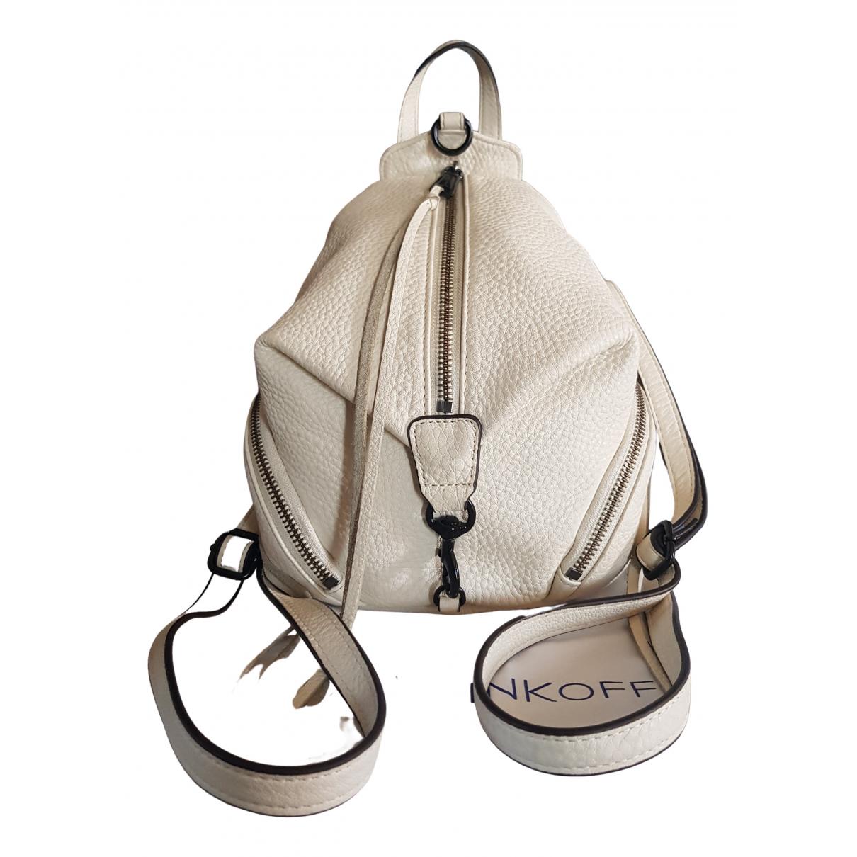 Rebecca Minkoff \N White Leather backpack for Women \N