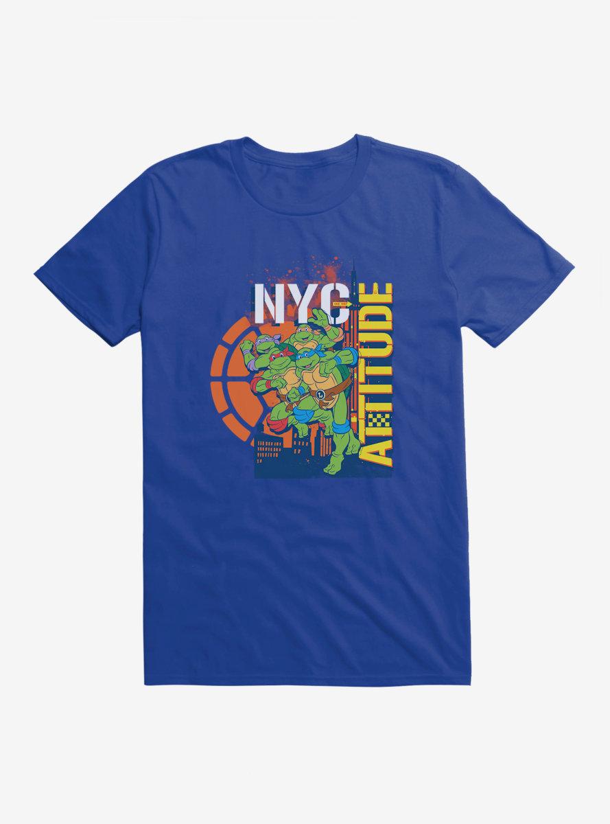 Teenage Mutant Ninja Turtles New York Attitude T-Shirt