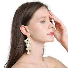 Ohrringe mit Quasten