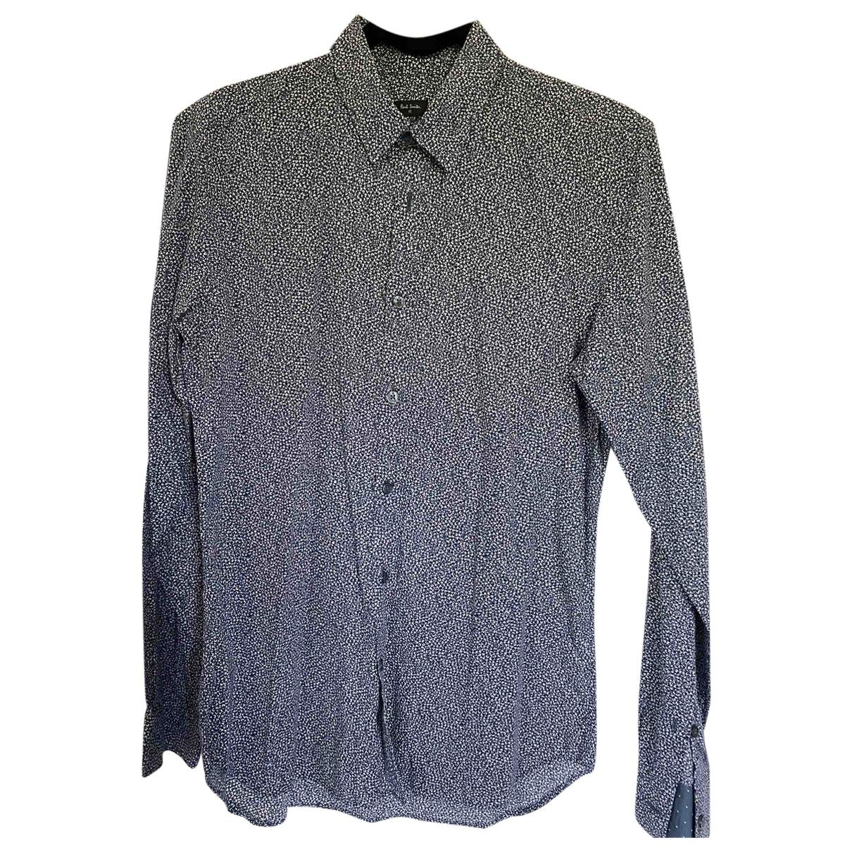 Paul Smith - Chemises   pour homme en coton - bleu