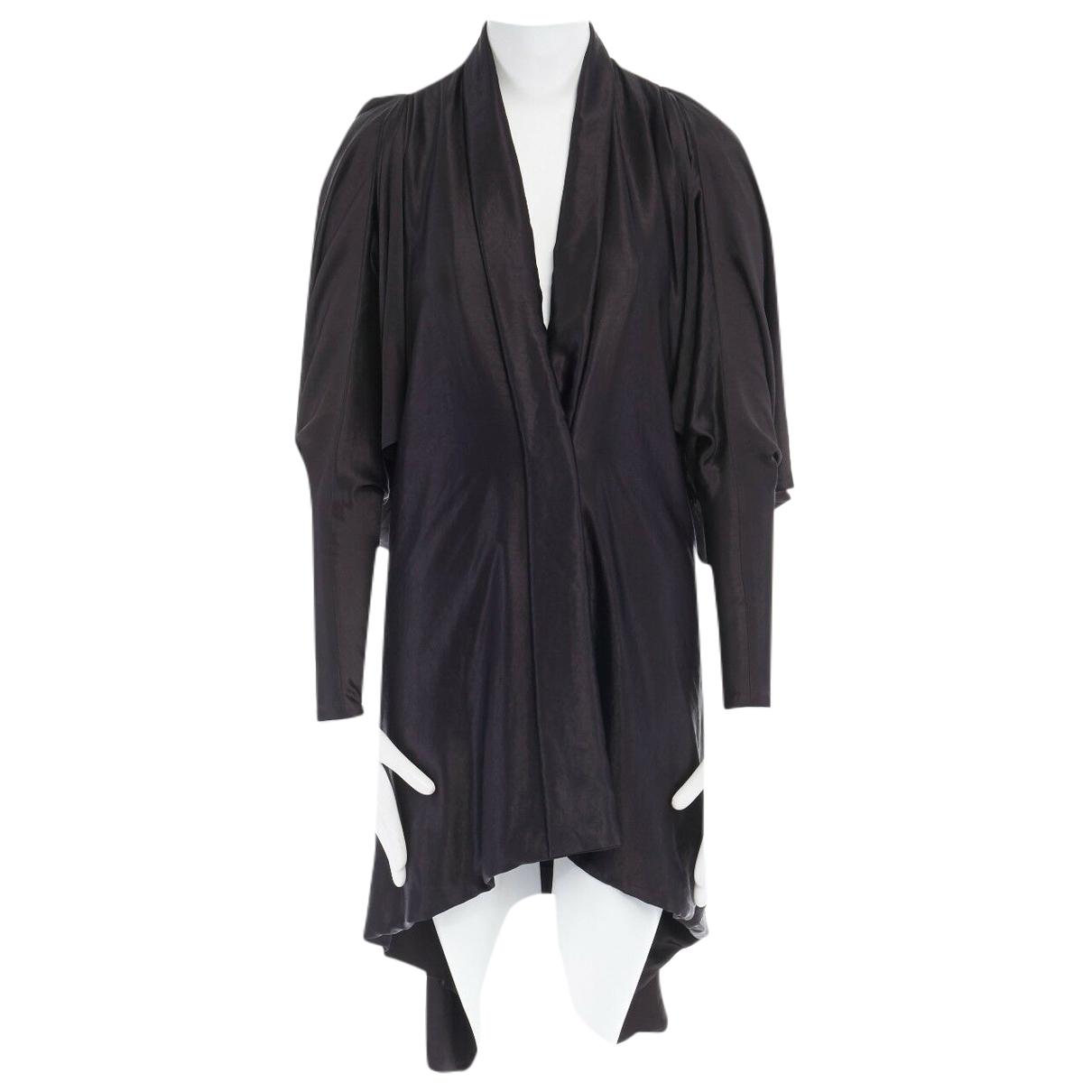 Alexander Mcqueen \N Kleid in  Schwarz Polyester