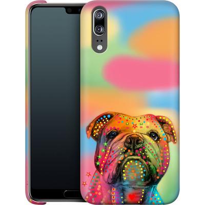 Huawei P20 Smartphone Huelle - Bulldog von Mark Ashkenazi