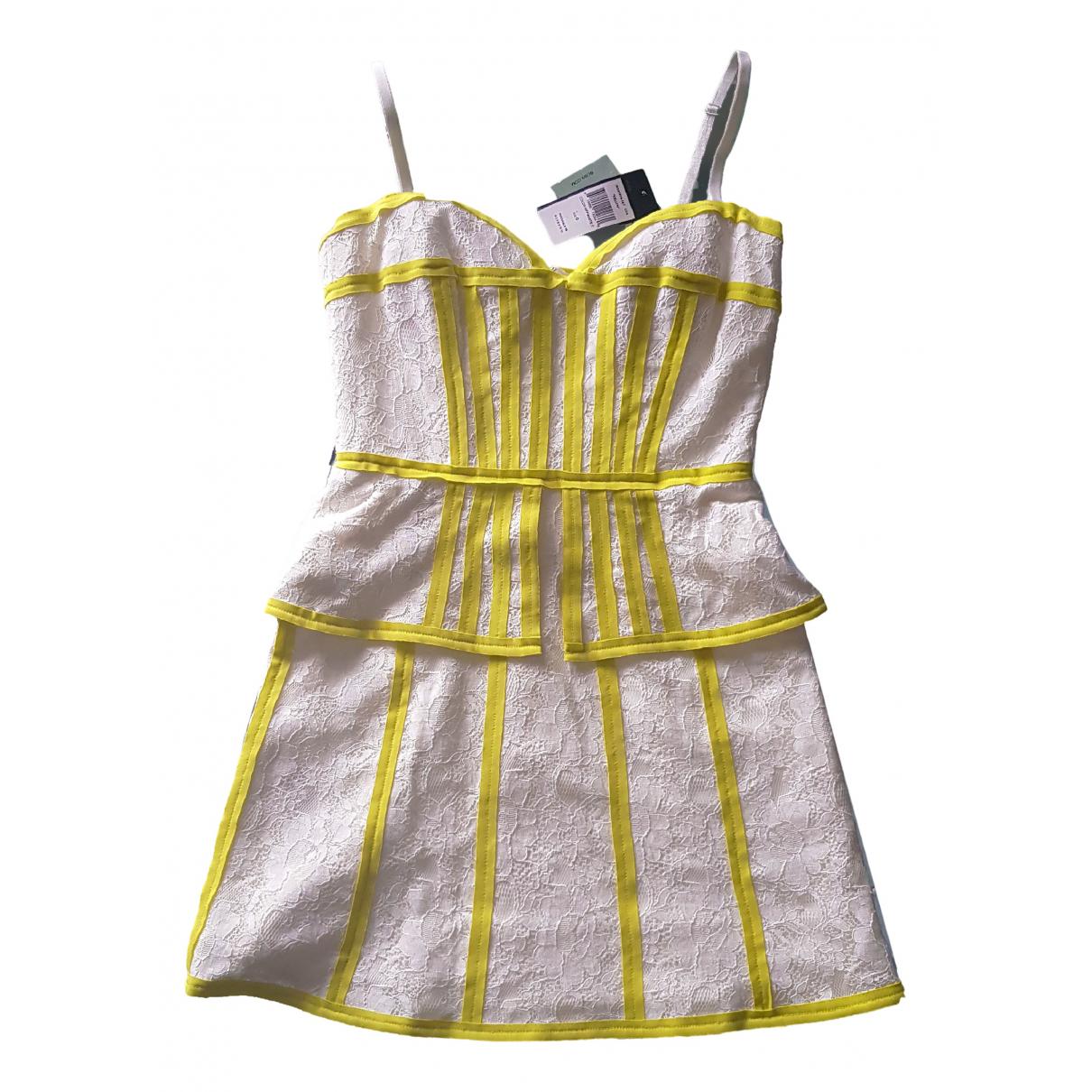 Bcbg Max Azria N White Lace dress for Women XS International