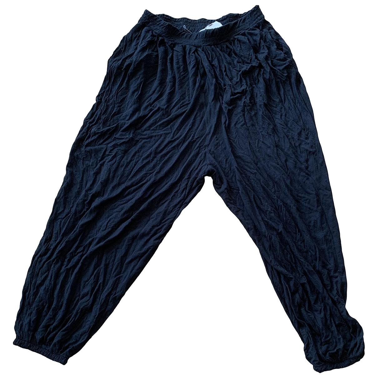 Paul & Joe \N Black Trousers for Women 38 FR