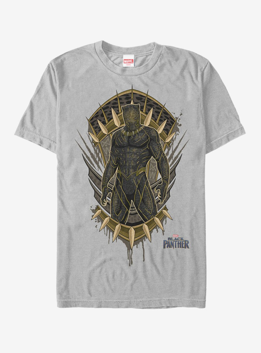 Marvel Black Panther 2018 Claw Crest T-Shirt