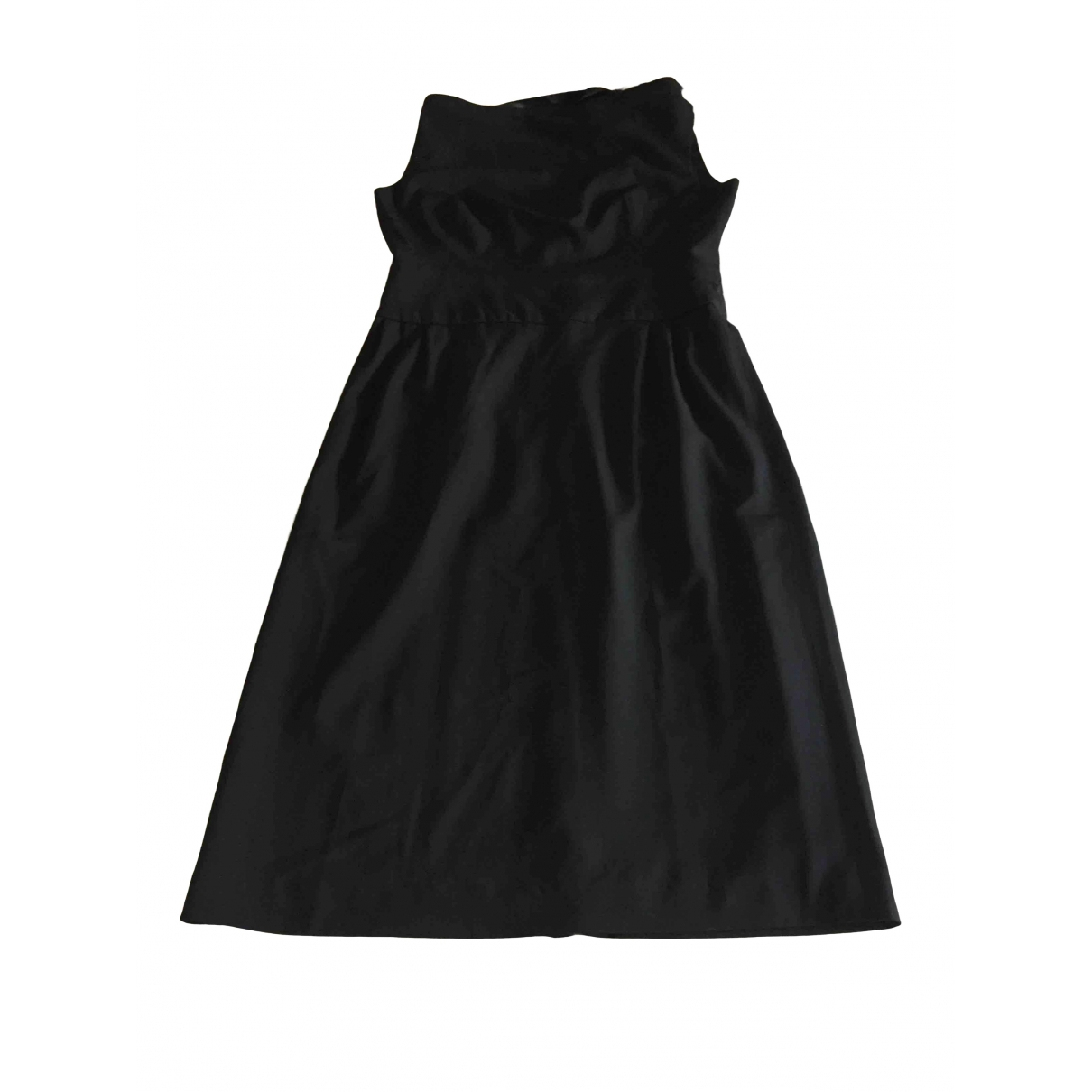 Gianfranco Ferre \N Kleid in  Schwarz Wolle