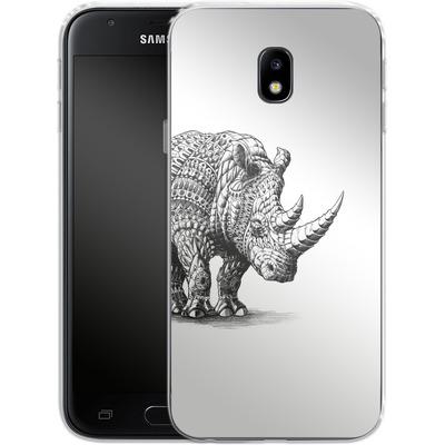 Samsung Galaxy J3 (2017) Silikon Handyhuelle - Rhinoceros von BIOWORKZ
