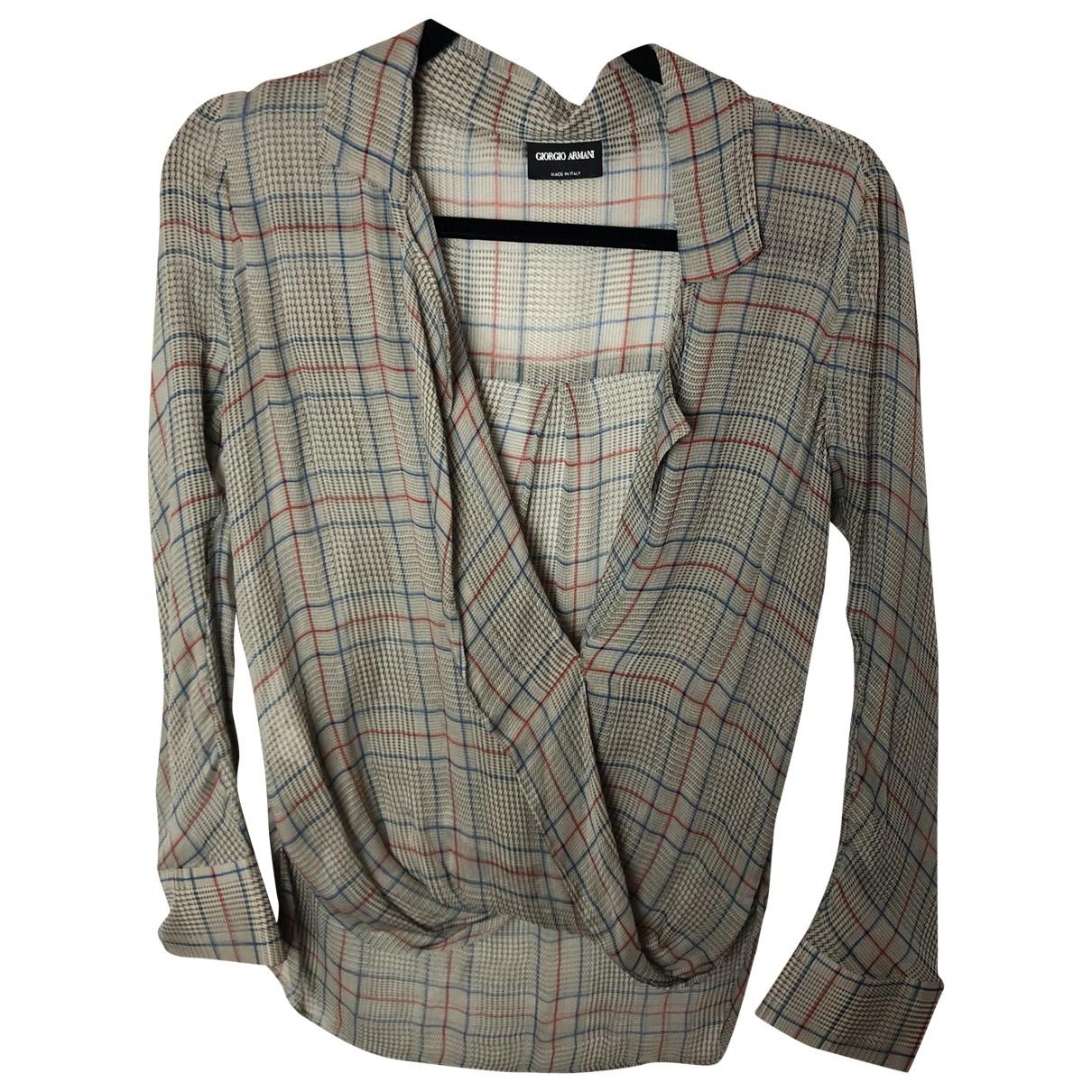 Giorgio Armani \N Multicolour Silk  top for Women S International