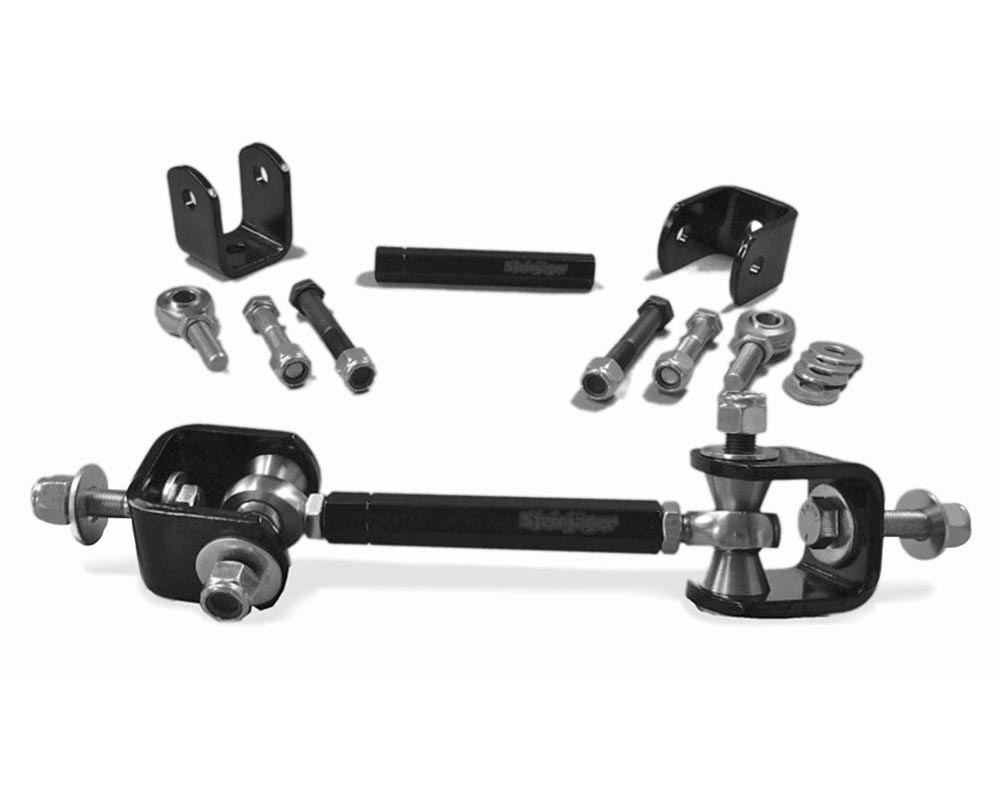 Steinjager J0015538 Drop Clevises Included Sway Bar End Links 1/2-20 8.60 Inches Long Chrome Moly Heims Powder Coated Steel Tube
