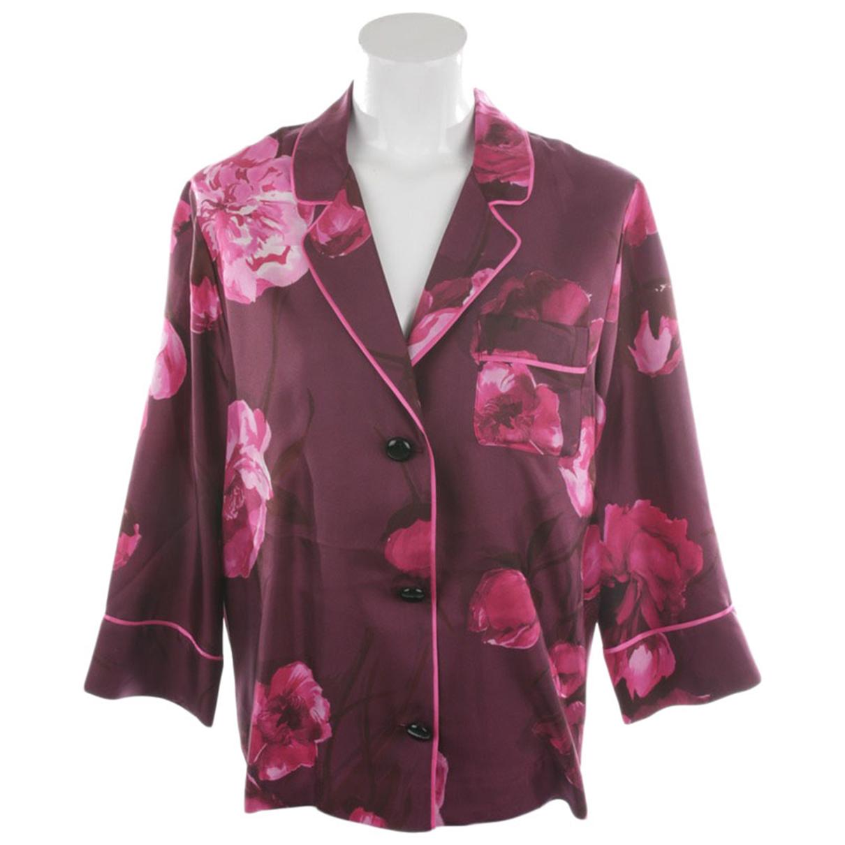 F.r.s For Restless Sleepers - Top   pour femme en soie - violet
