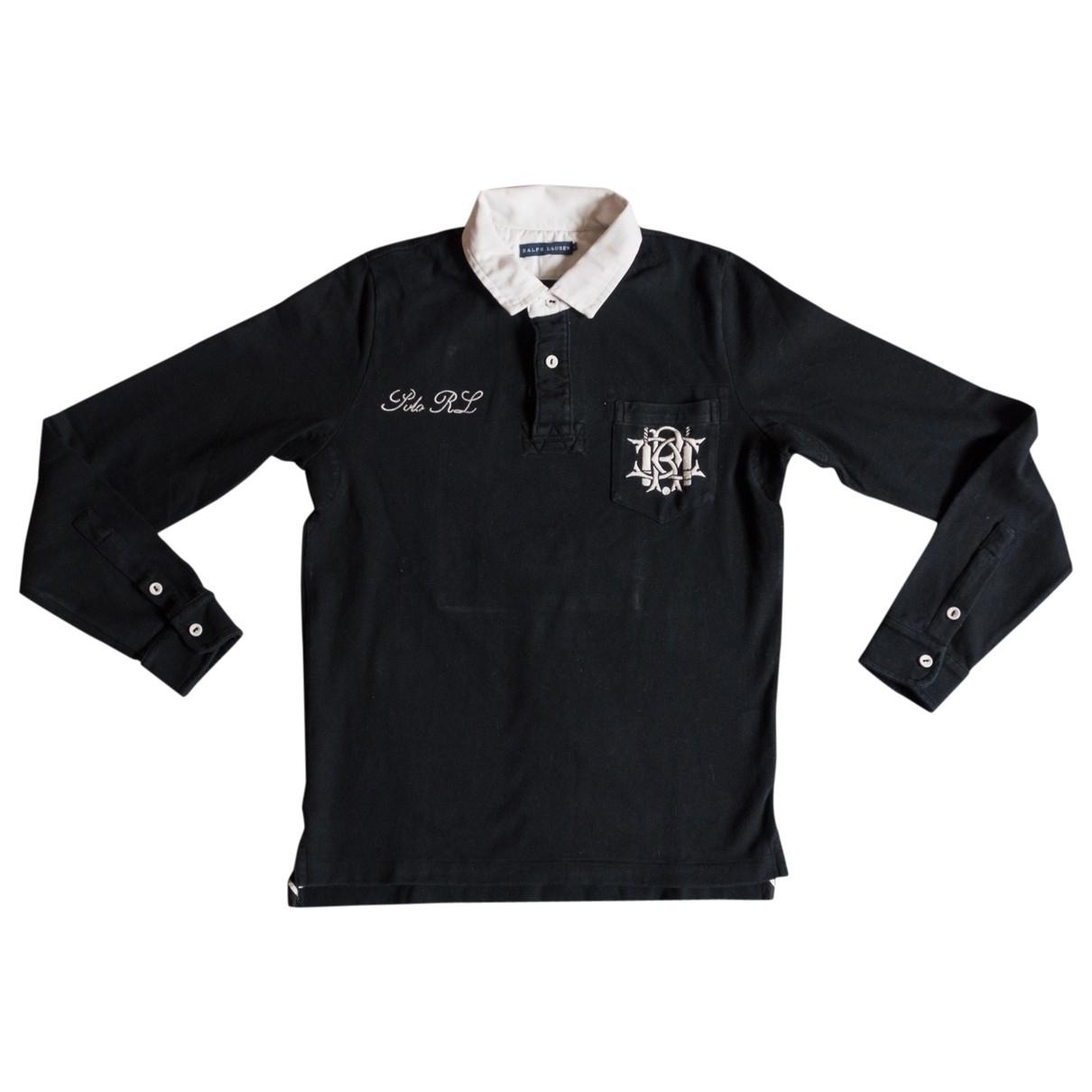 Polo en Algodon Negro Ralph Lauren