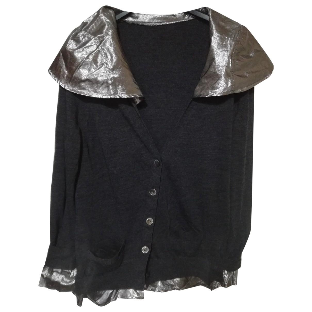 Sacai \N Grey Wool Knitwear for Women 4 US