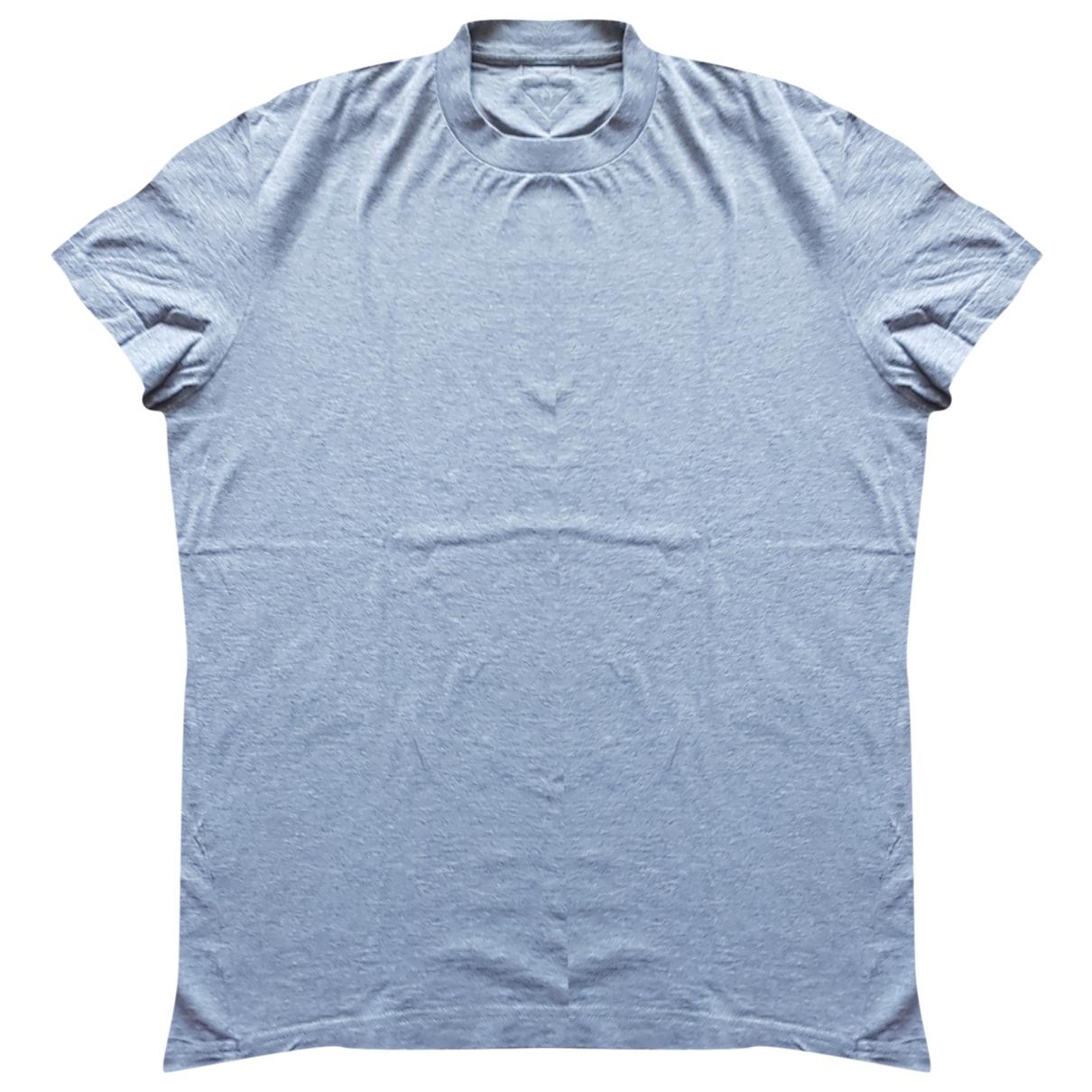 Prada \N Grey Cotton T-shirts for Men M International