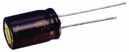 Panasonic 560μF Electrolytic Capacitor 35V dc, Through Hole - EEUFC1V561 (5)