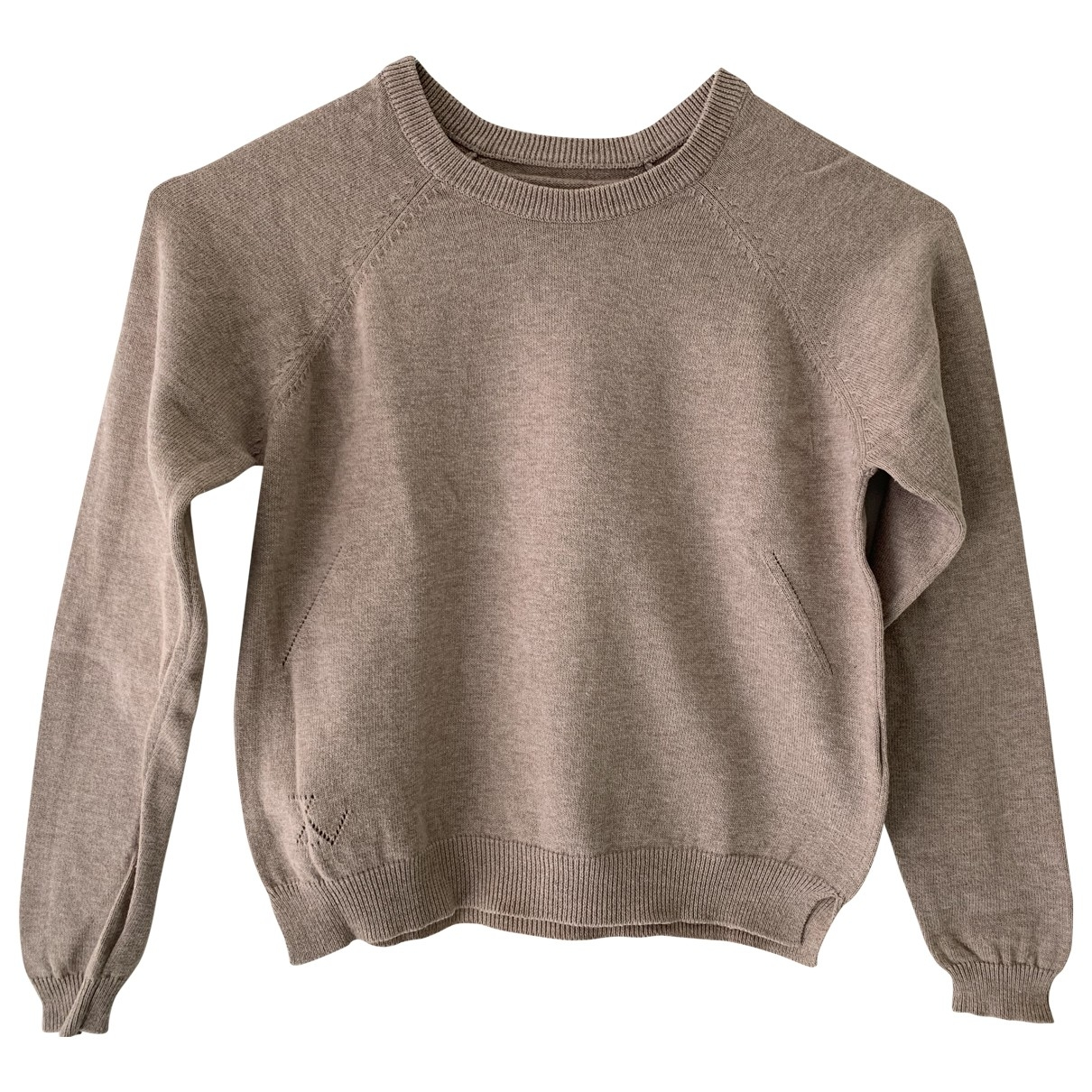 Zadig & Voltaire \N Beige Cotton Knitwear for Kids 5 years - up to 108cm FR