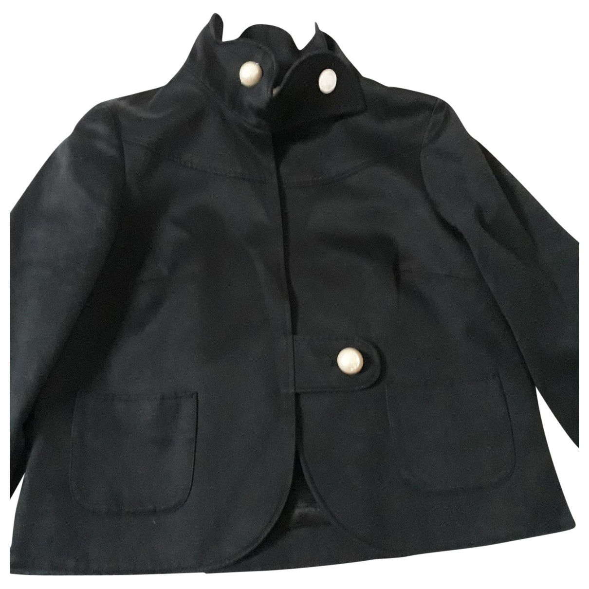 Matthew Williamson \N Black Cotton jacket for Women 8 UK
