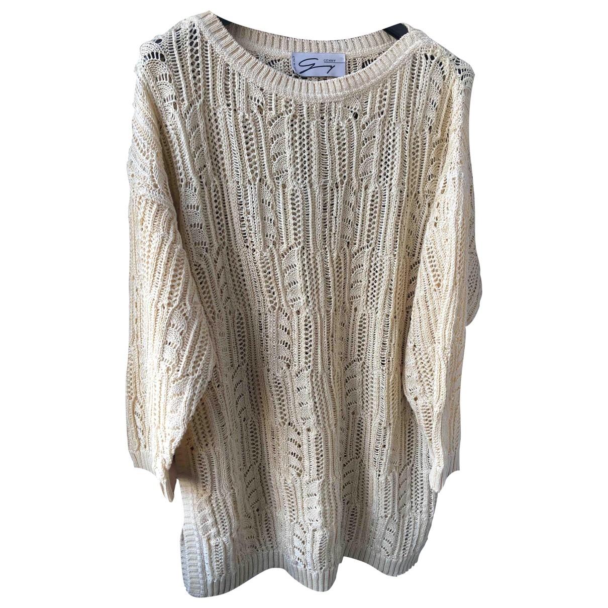 Genny \N Pullover in  Beige Baumwolle