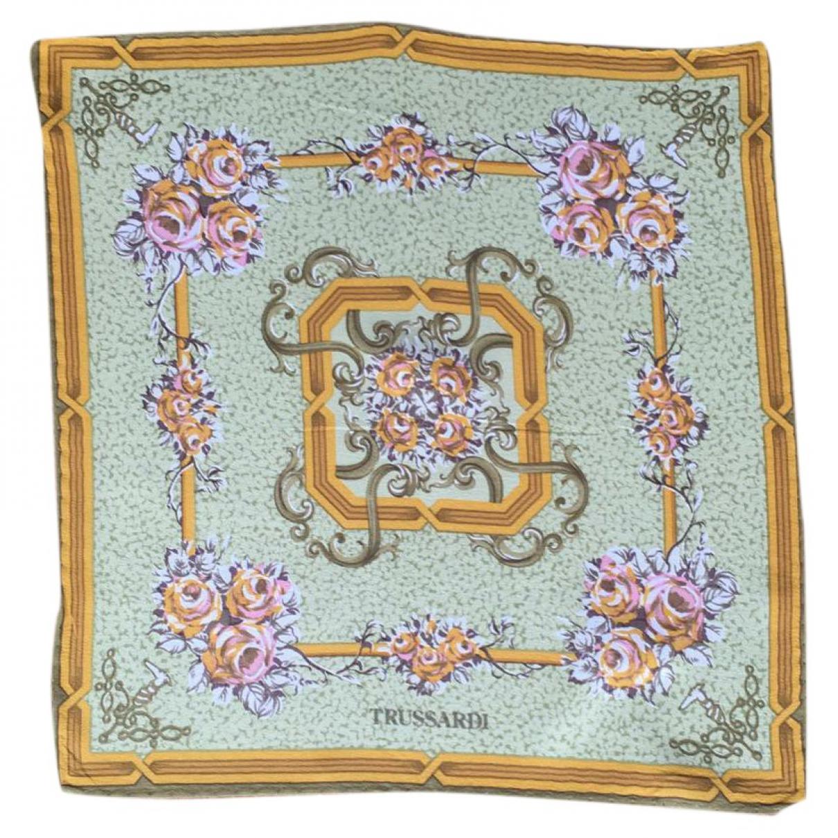 Pañuelo / bufanda de Seda Trussardi