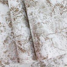 1pc Marble Pattern Wallpaper Sticker