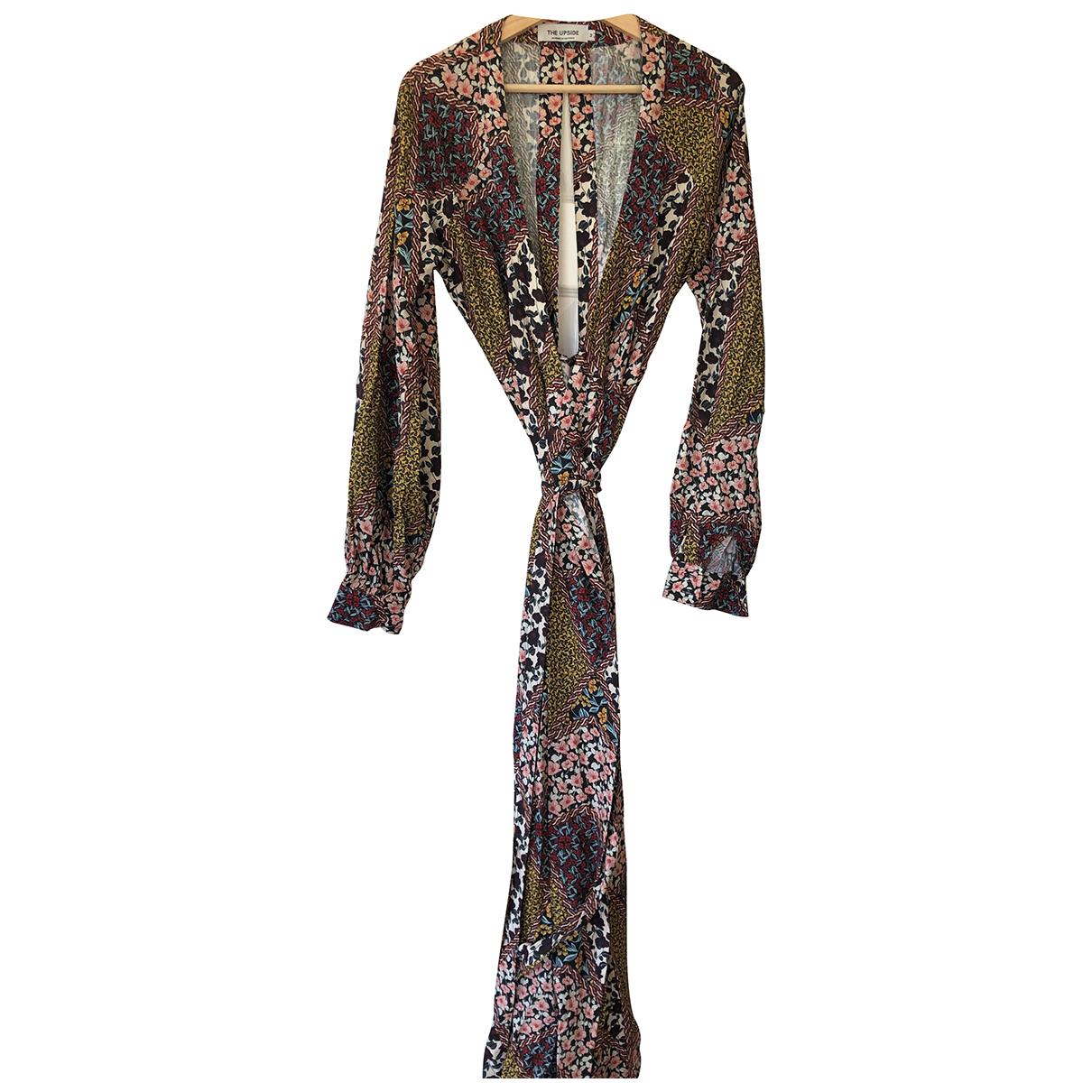 The Upside - Robe   pour femme en coton - multicolore