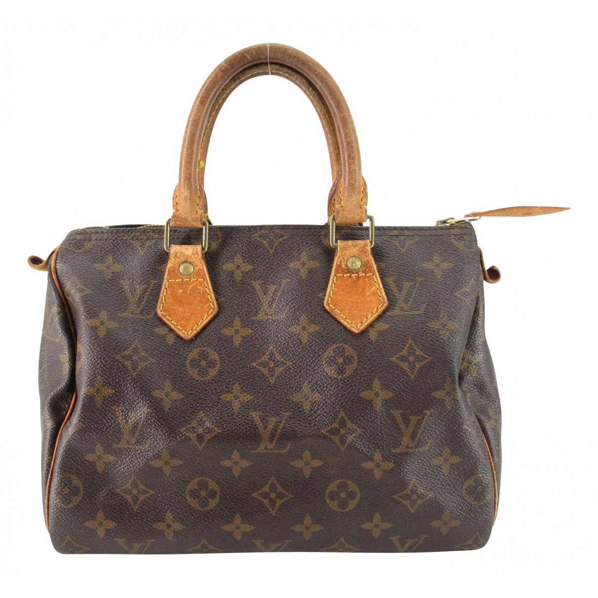 Louis Vuitton Nano Speedy / Mini HL Brown Cloth handbag for Women N