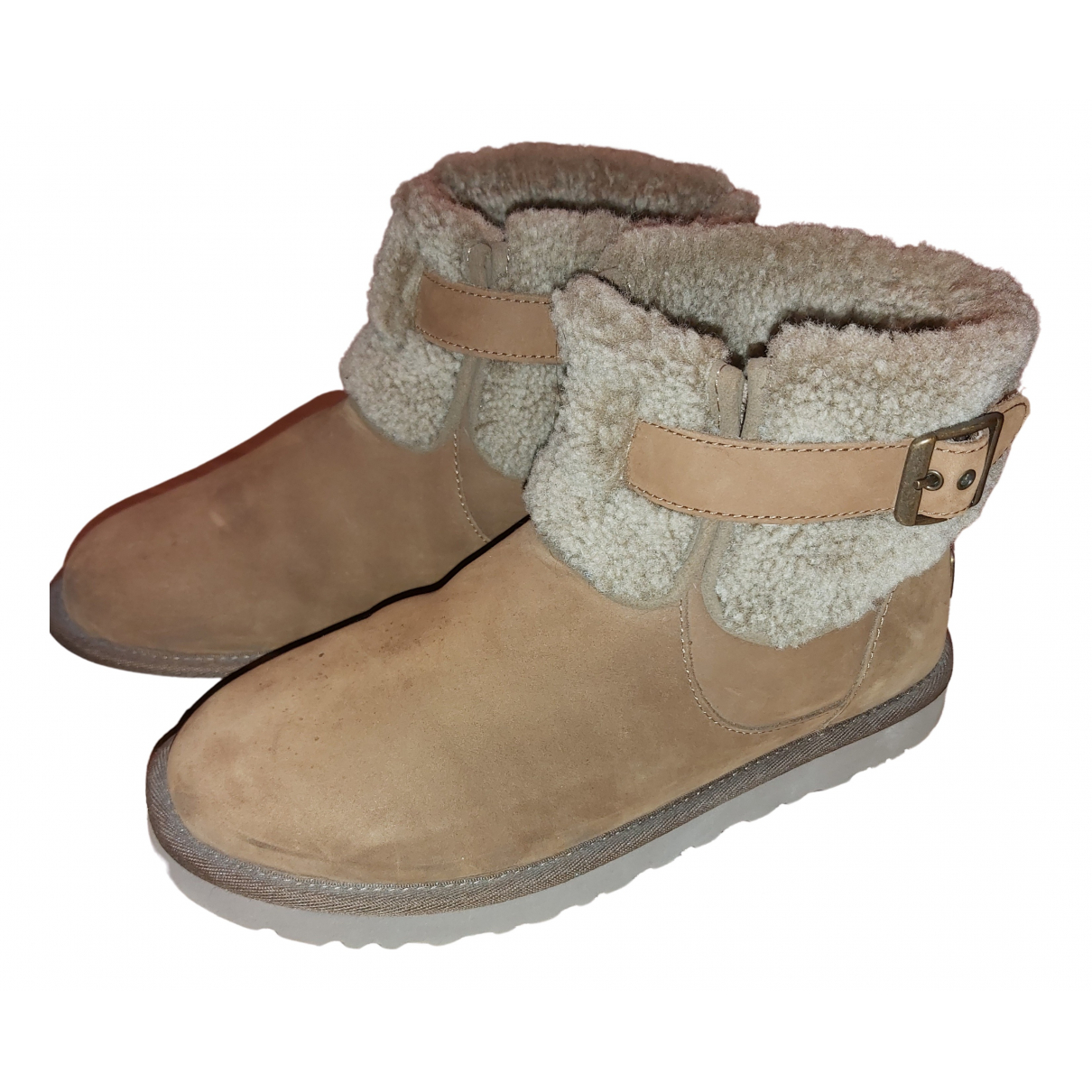 Ugg N Brown Suede Ankle boots for Women 39 EU