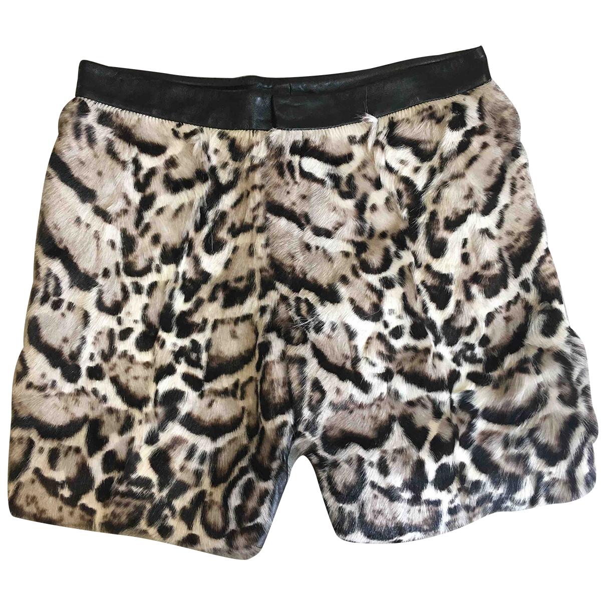Christopher Kane \N Shorts in  Grau Fell
