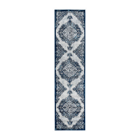 Alexandria 5 Rectangular Indoor Rugs, One Size , Blue