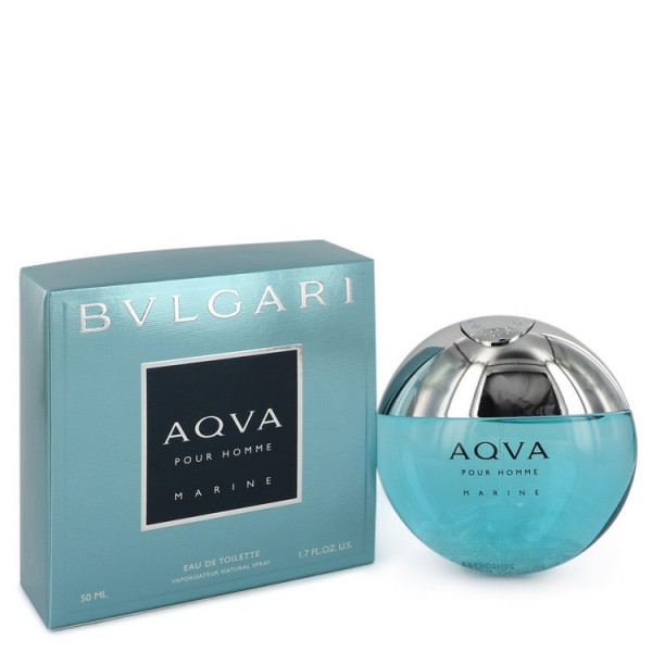 Bvlgari - Aqva Marine : Eau de Toilette Spray 1.7 Oz / 50 ml