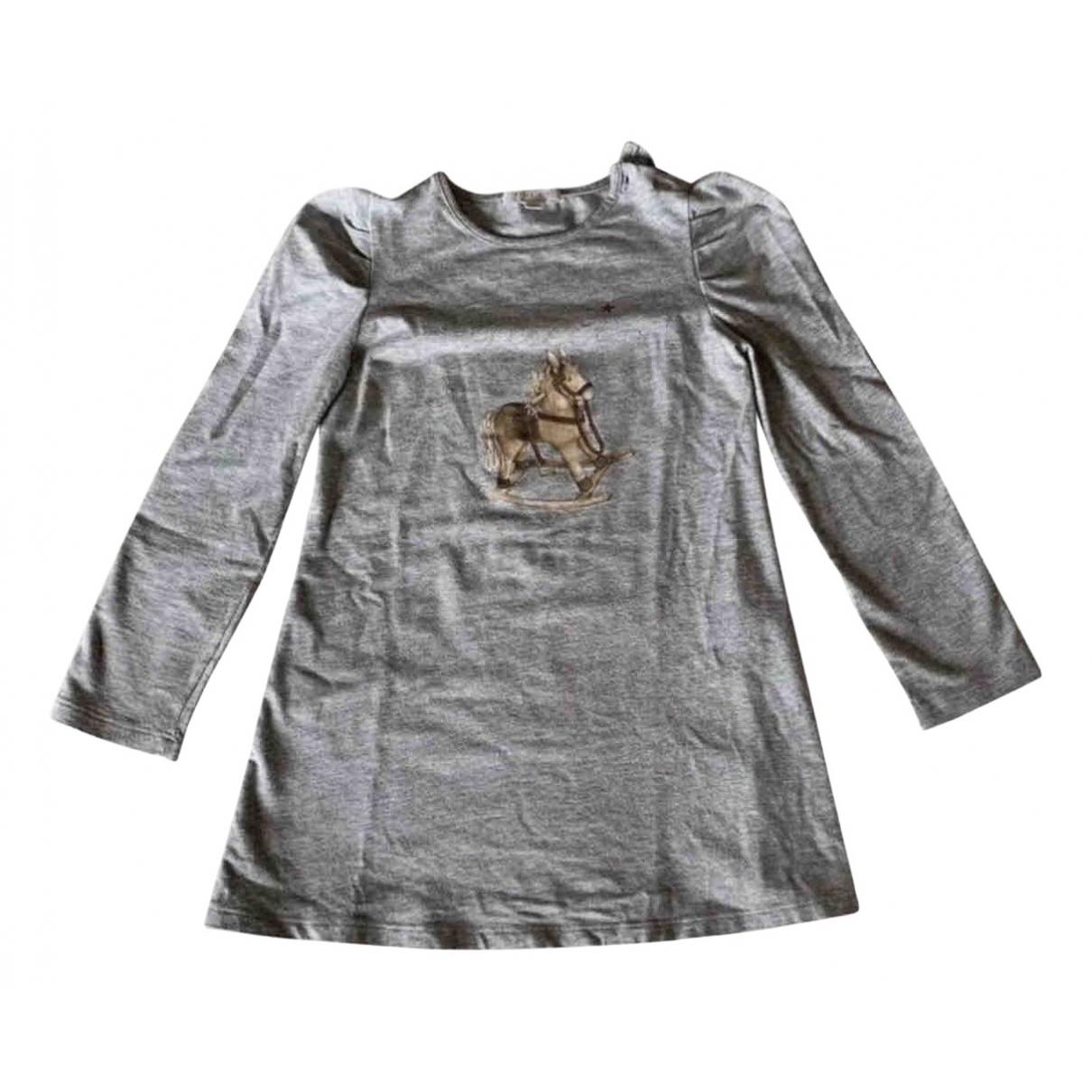 Gucci \N Kleid in  Grau Baumwolle - Elasthan
