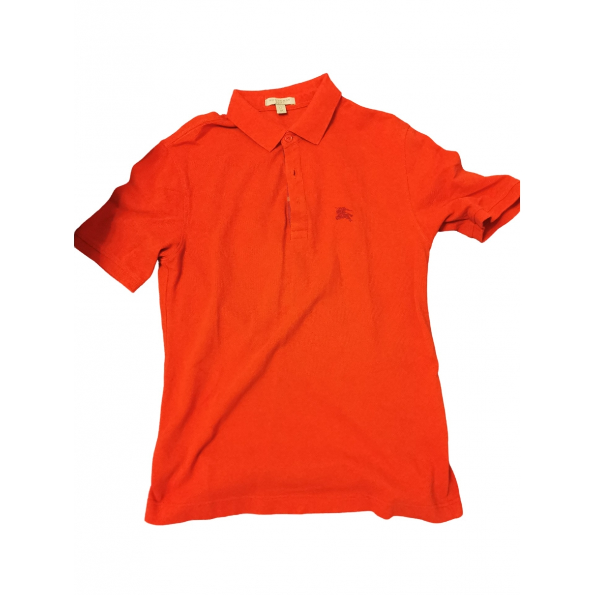 Burberry \N Red Cotton Polo shirts for Men XS International