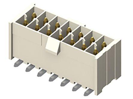 Samtec , IPL1, 2 Way, 1 Row, Vertical PCB Header (87)
