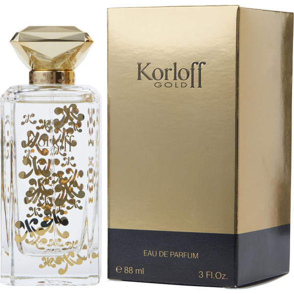Korloff - Gold : Eau de Parfum Spray 6.8 Oz / 90 ml