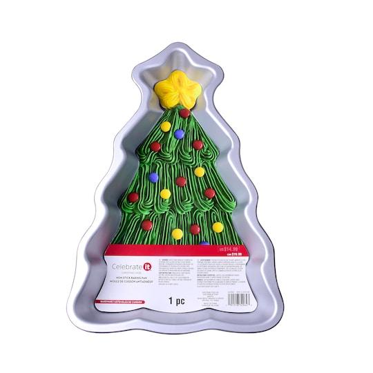 Tree Non-Stick Baking Pan By Celebrate It™ Christmas | Michaels®
