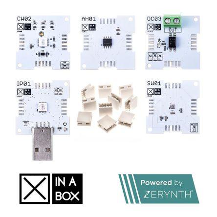 XinaBox IoT Starter Kit, Powered by Zerynth Wi-Fi XK12