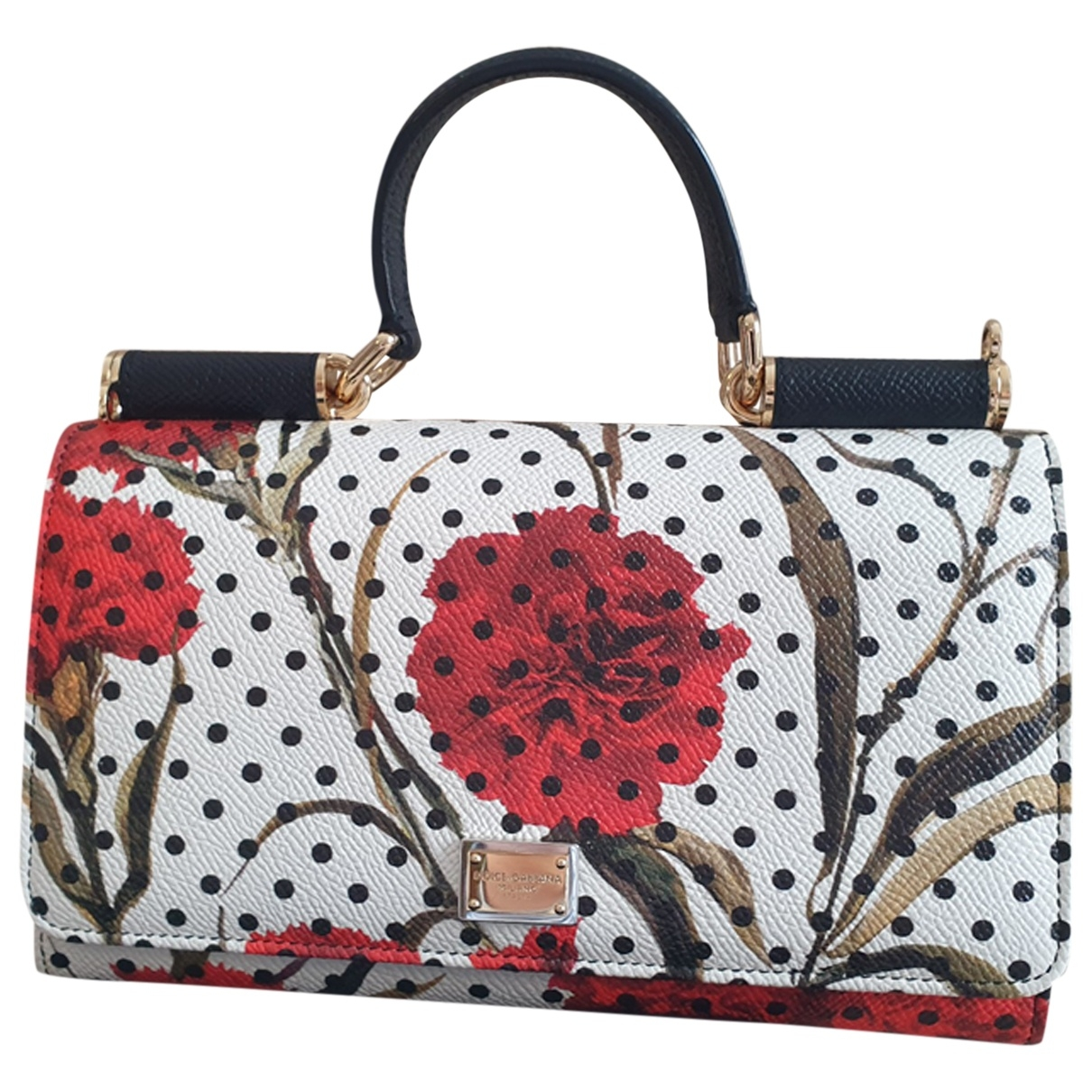 Dolce & Gabbana Sicily Multicolour Leather Clutch bag for Women \N