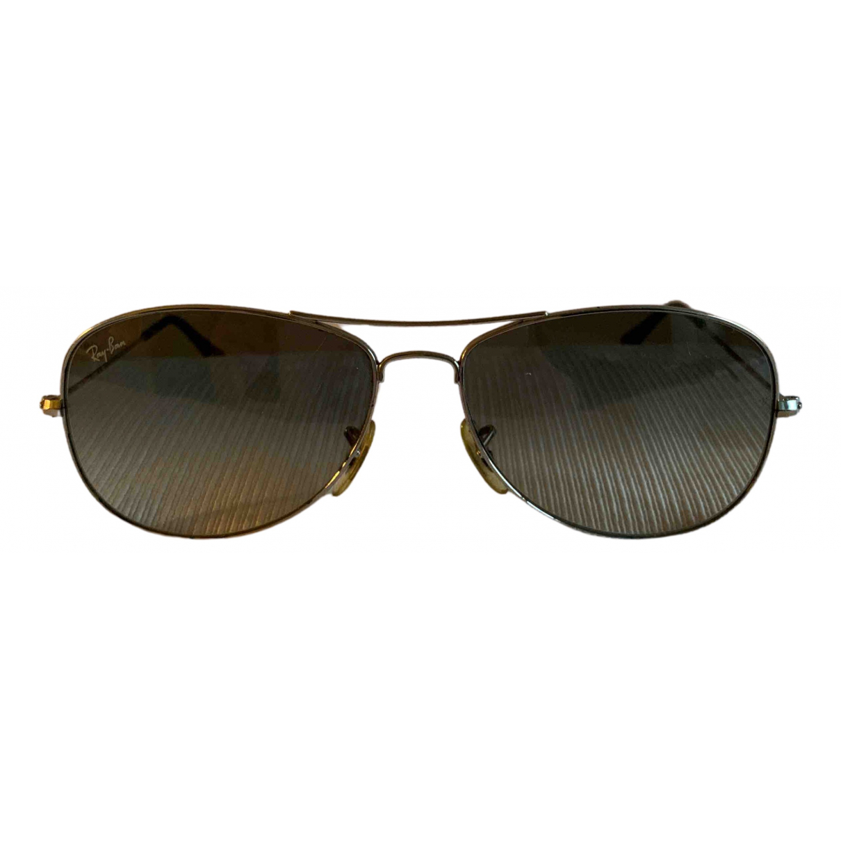 Ray-ban N Grey Metal Sunglasses for Women N
