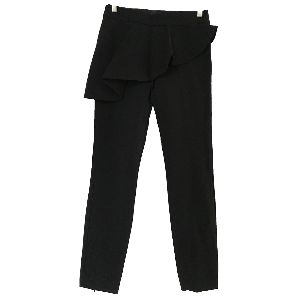 Zara \N Black Trousers for Women XS International