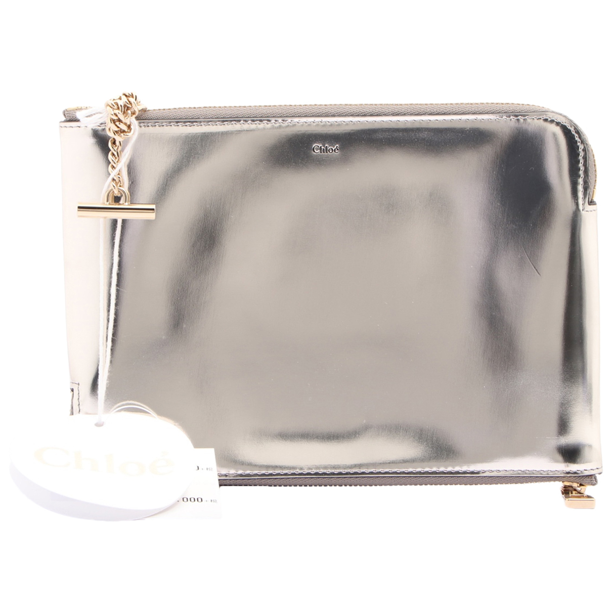 Chloé N Silver Leather Purses, wallet & cases for Women N