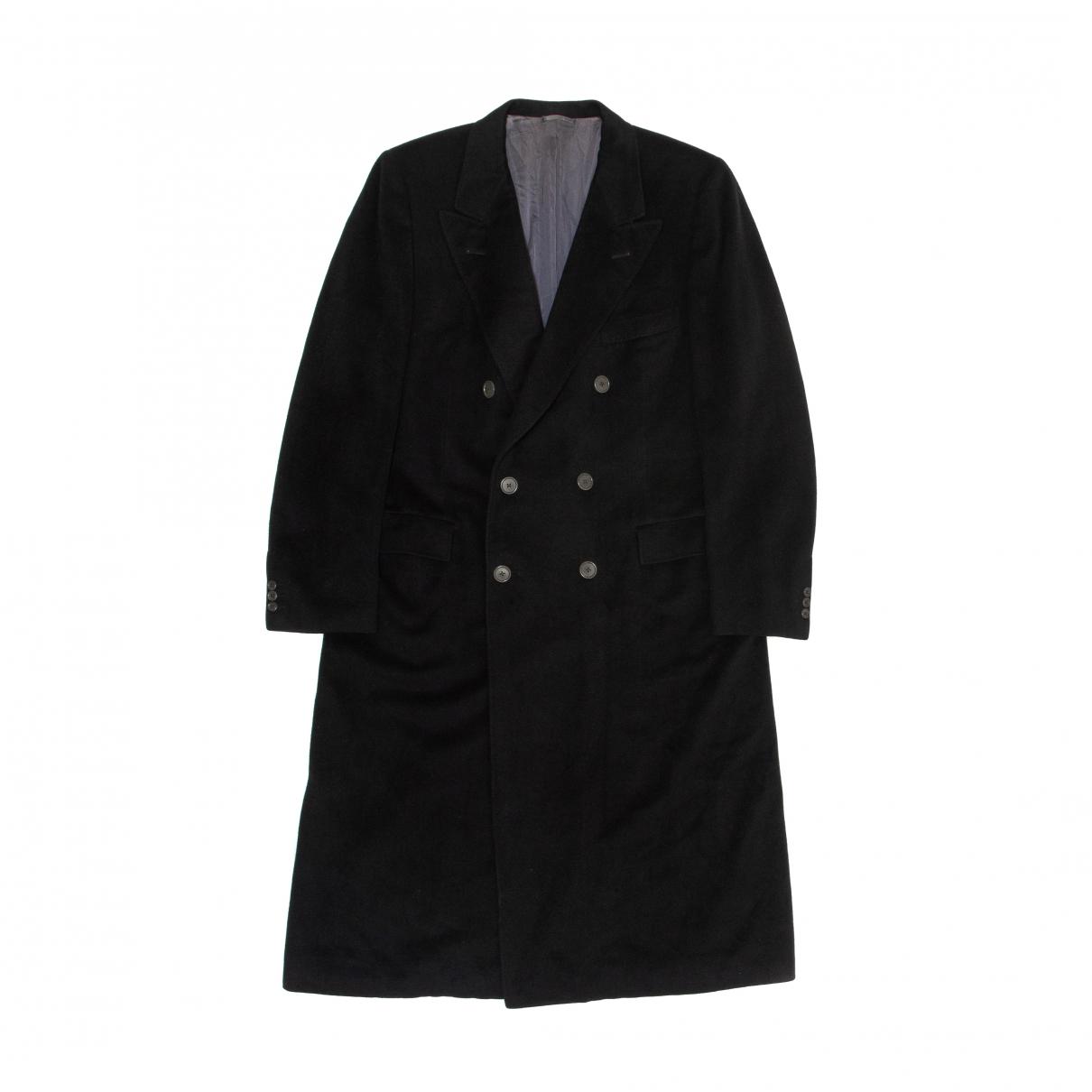 Lanvin - Manteau   pour homme en cachemire - noir
