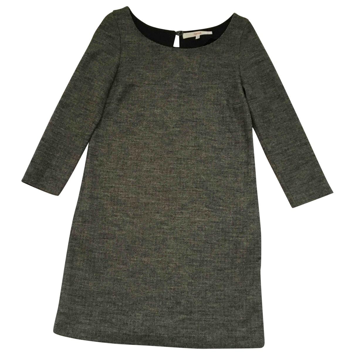 Jucca - Robe   pour femme en laine - gris