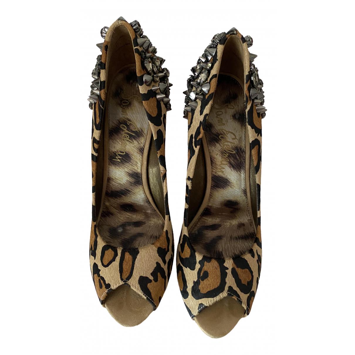 Sam Edelman \N Fur Heels for Women 38 EU