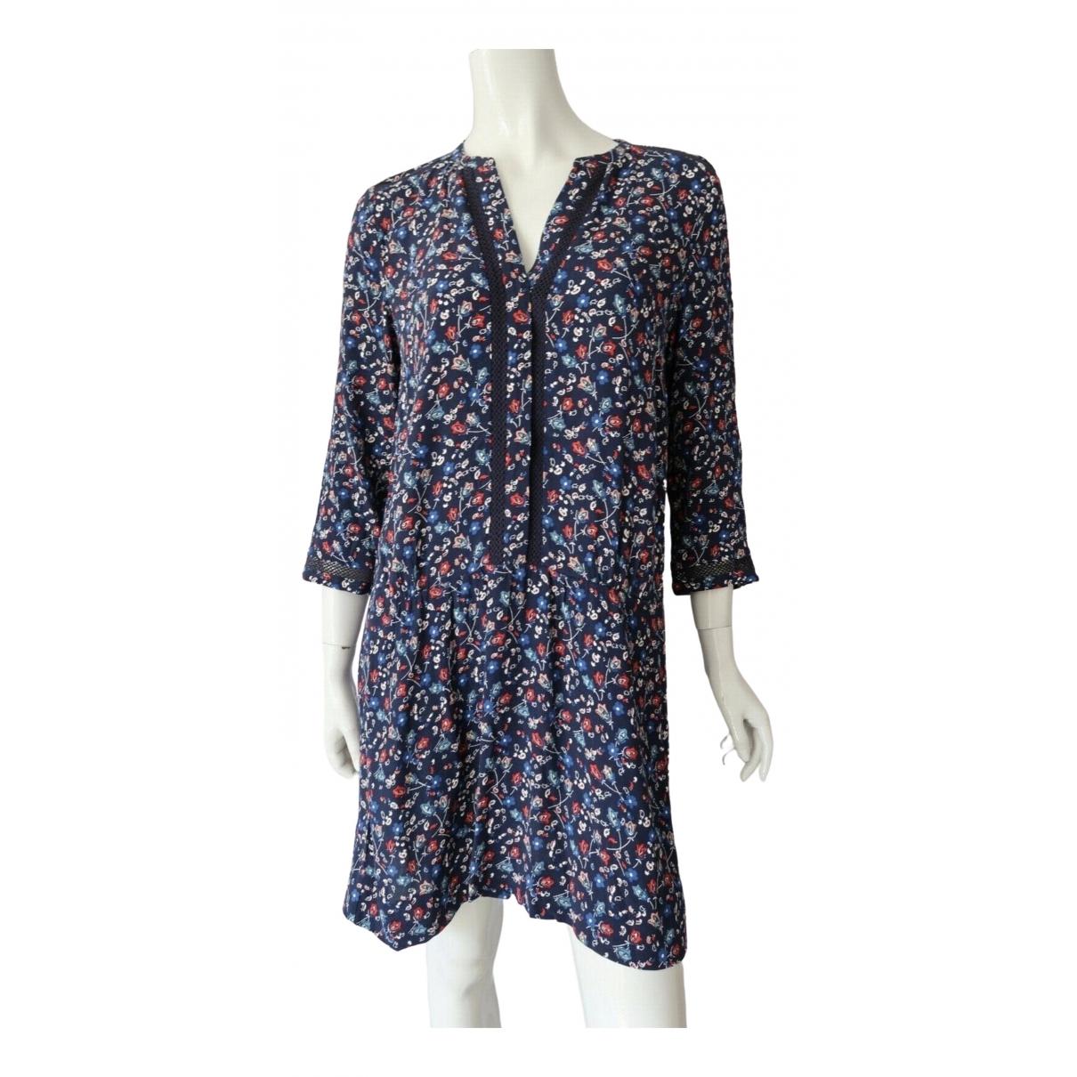 Comptoir Des Cotonniers \N Kleid in  Blau Viskose