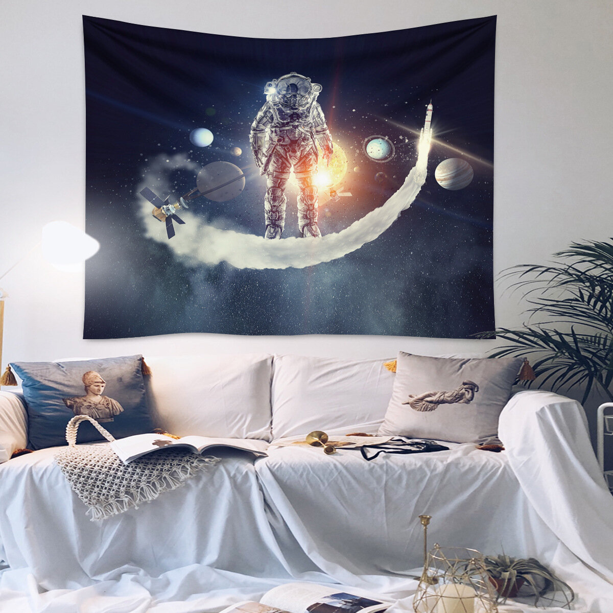Astronaut Tapestry Wall Psychedelic Tapestry Bedroom Home Curtain Tapestry Wall Tapestry