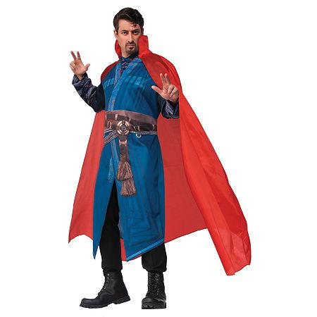 Dr Strange Dress Up Costume Mens, One Size , Red
